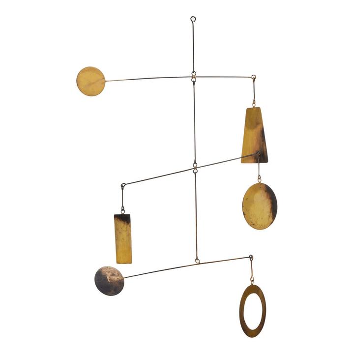 DONNA carillon del vento 396116000000 Dimensioni L: 37.0 cm x P: 37.0 cm x A: 58.0 cm Colore Color rame N. figura 1
