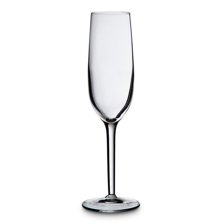 RUBINO Flûteglas 393001202075 Grösse B: 7.0 cm x T: 7.0 cm x H: 2.3 cm Farbe Transparent Bild Nr. 1