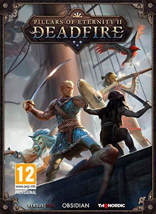 PC - Pillars of Eternity II: Deadfire (F/I) Fisico (Box) 785300132665 N. figura 1