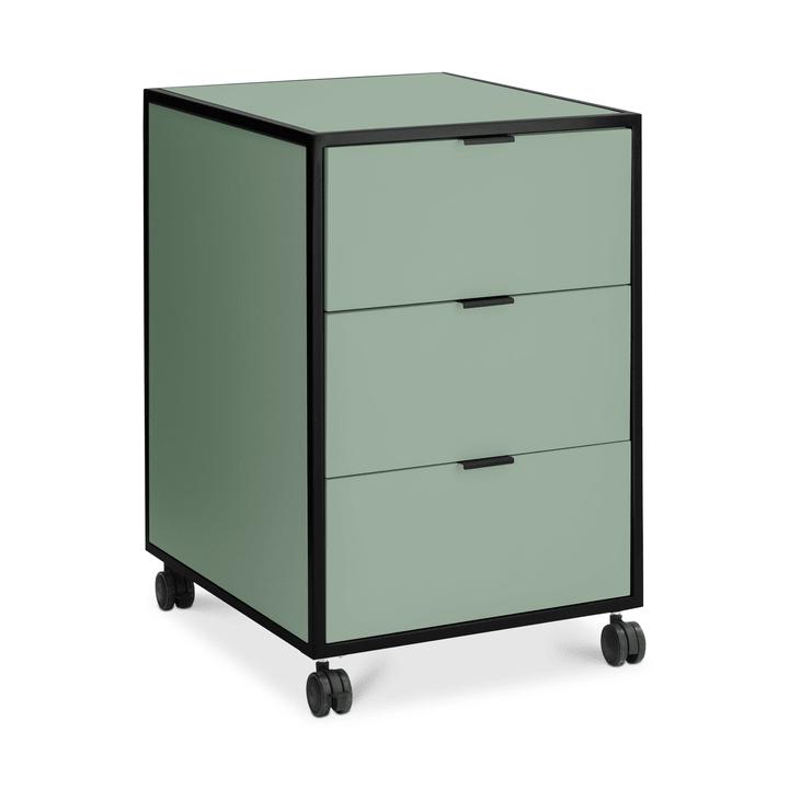 SEVEN Cassettiera 364185400060 Dimensioni L: 46.0 cm x P: 52.0 cm x A: 68.0 cm Colore Verde N. figura 1