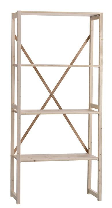WASA Set d'étagères de base 407520400000 Dimensions L: 80.0 cm x P: 40.0 cm x H: 183.0 cm Couleur Épicéa Photo no. 1