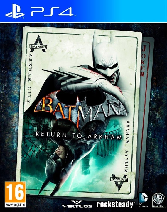 PS4 - Batman: Return to Arkham Physique (Box) 785300121453 Photo no. 1