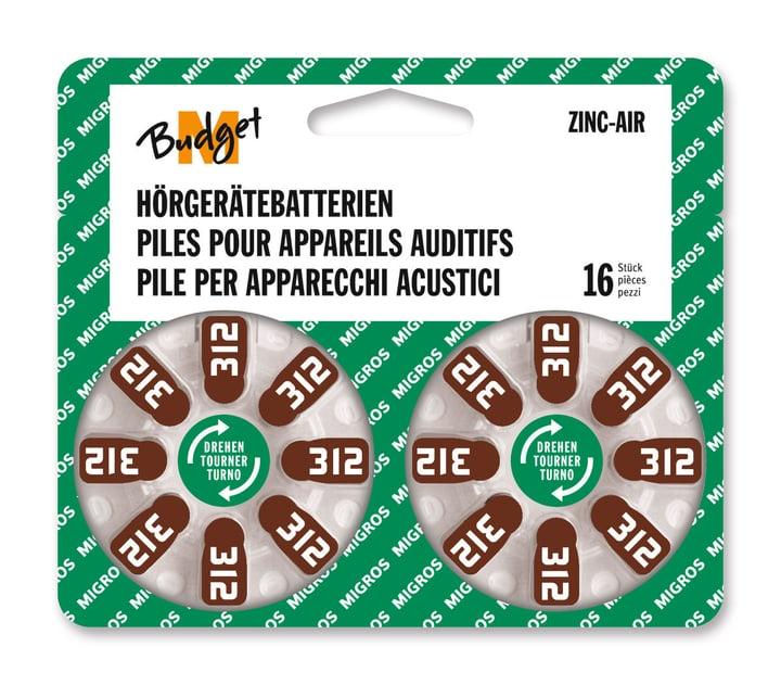 312 16 pezzi pila auditiva Hörgerätebatterie M-Budget 792206500000 N. figura 1