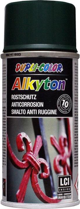 Aerosol de peinture antirouille antirouille Alkyton Dupli-Color 660837800000 Couleur Vert mousse Contenu 150.0 ml Photo no. 1
