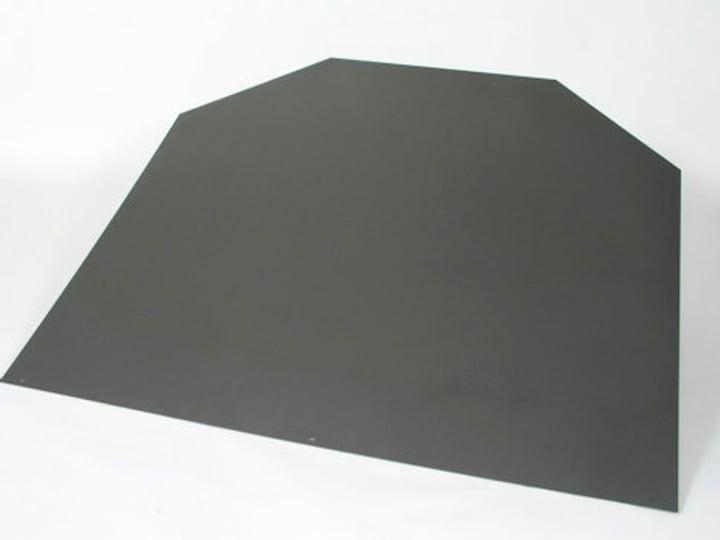 Zoccolo in acciaio esagonale grigio 678014300000 N. figura 1