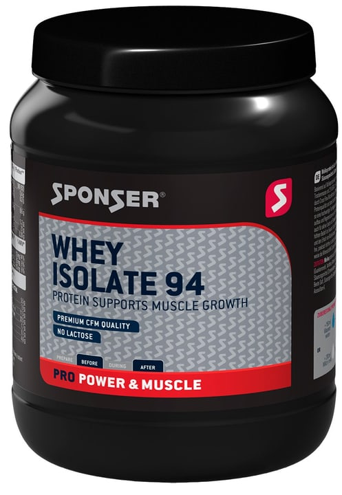Whey Isolate 94 Petit-lait en poudre 850g Sponser 463042400000 Photo no. 1