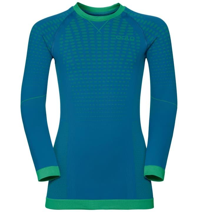 Shirt EVOLUTION WARM KIDS Maglietta termica da bambino Odlo 462829814044 Colore turchese Taglie 140 N. figura 1