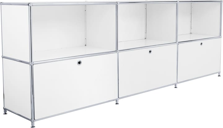 FLEXCUBE Buffet 401809600010 Dimensions L: 227.0 cm x P: 40.0 cm x H: 80.5 cm Couleur Blanc Photo no. 1