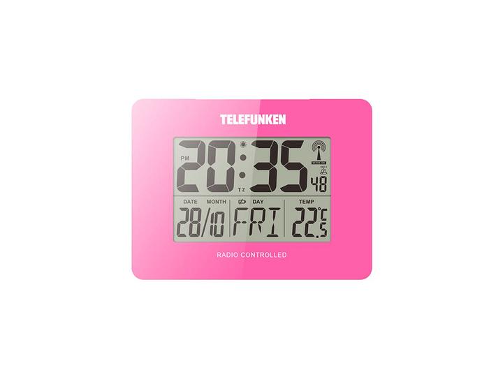 *Funkwecker FUD40 pink Telefunken 761137200000 N. figura 1