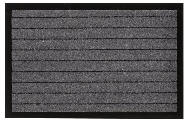 YUKON paillasson 412803006080 Couleur gris Dimensions L: 40.0 cm x P: 60.0 cm Photo no. 1