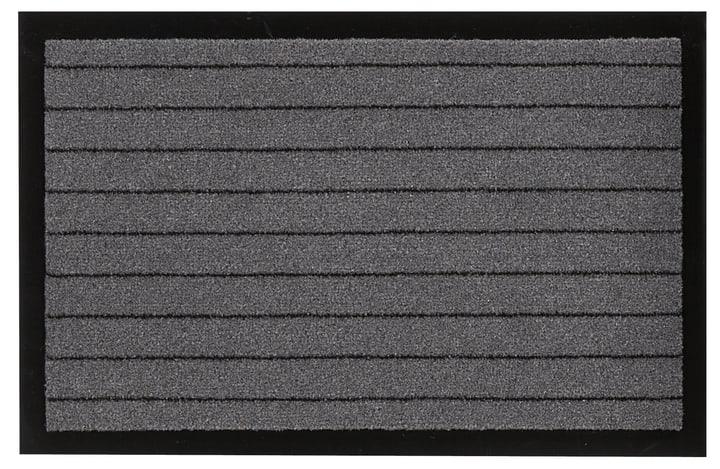 YUKON paillasson 412803009080 Couleur gris Dimensions L: 60.0 cm x P: 90.0 cm Photo no. 1