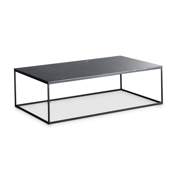 COFFEE table club 362225700000 Couleur Noir divers motifs Dimensions L: 120.0 cm x P: 70.0 cm x H: 36.0 cm Photo no. 1