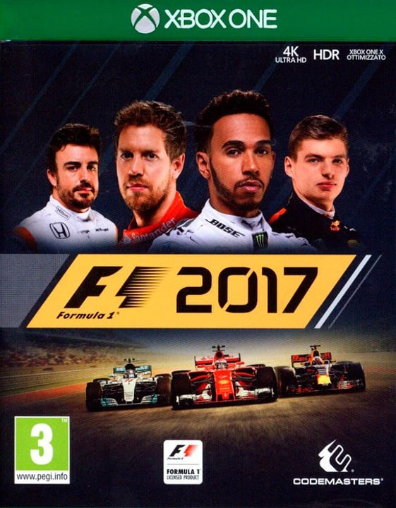 Xbox One - F1 2017 Box 785300129977 Photo no. 1