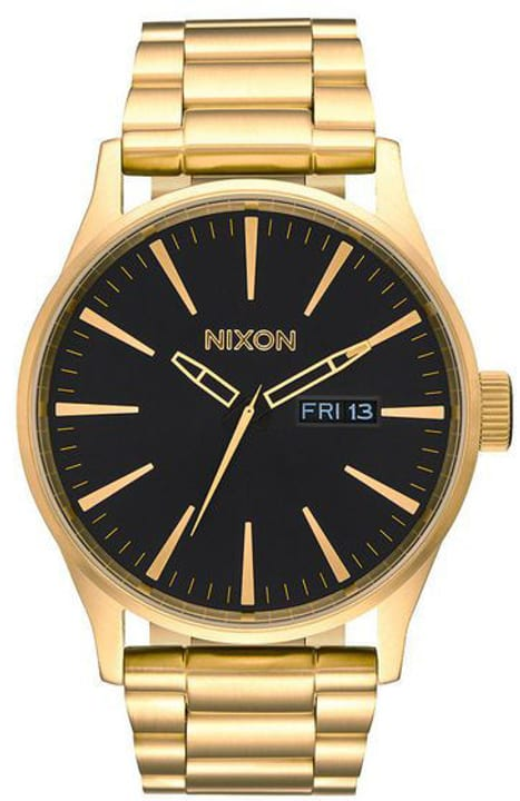 Sentry SS All Gold Black 42 mm Orologio da polso Nixon 785300136963 N. figura 1