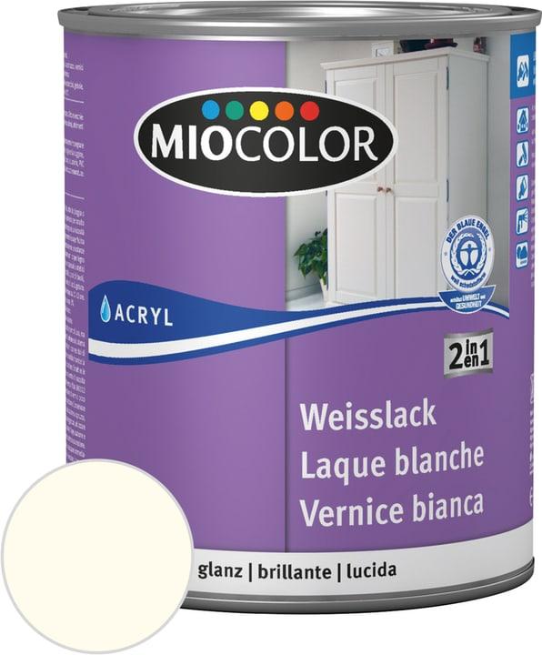 Laque acrylique blanche brillante Miocolor 676771800000 Couleur 0096 blanc ancien Contenu 375.0 ml Photo no. 1