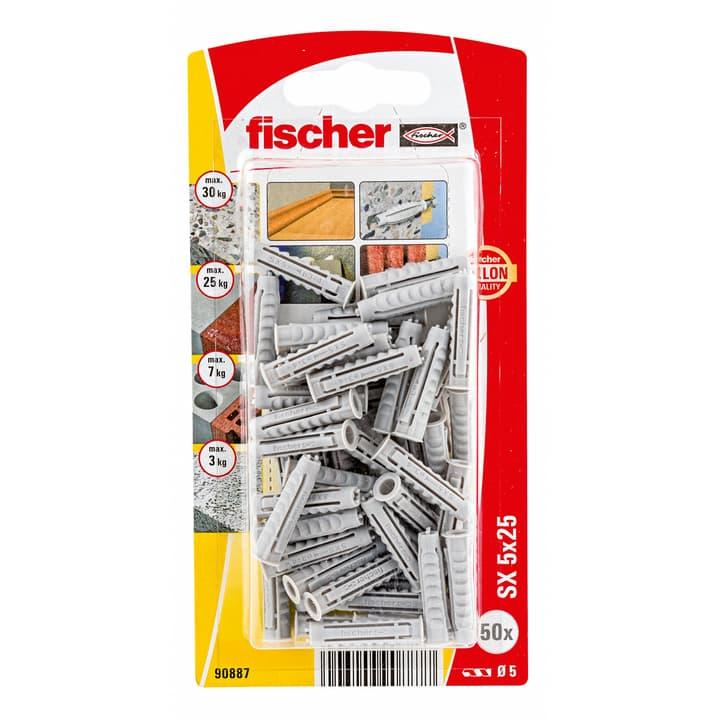 Tampon nylon SX 5 x 25 fischer 605415100000 Photo no. 1