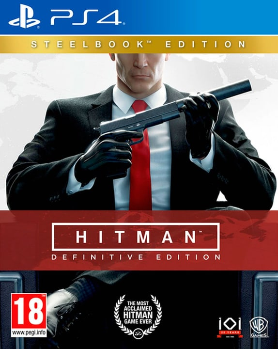 PS4 - Hitman - Definitive Edition Steelbook Edition (D/F) Physisch (Box) 785300134748 Bild Nr. 1