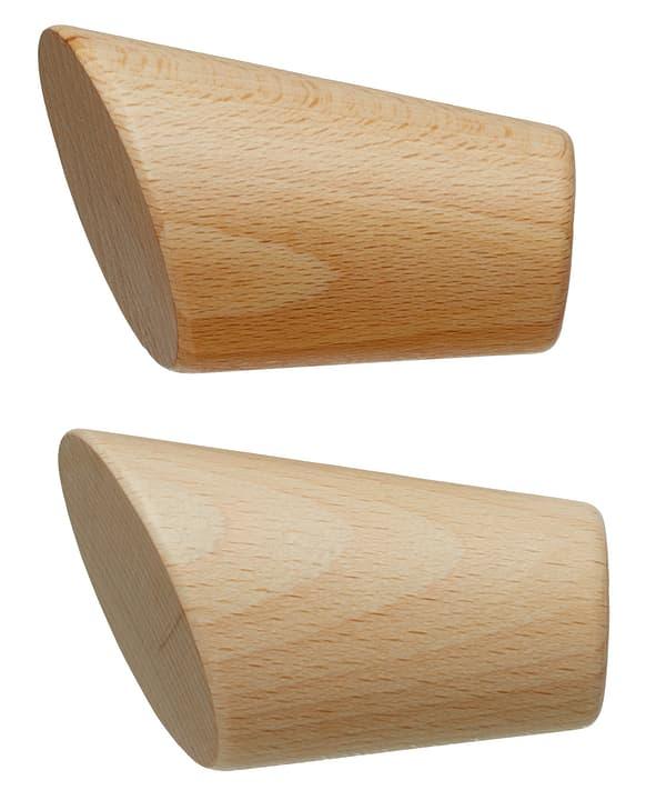 FSC® HOLZ KONICO Embout 430563700014 Couleur Marron clair Dimensions L: 60.0 mm x P: 26.0 mm Photo no. 1