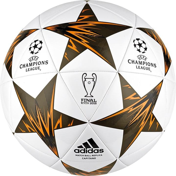 Finale Kiev Cap Ballon de football Adidas 461930700410 Couleur blanc Taille 4 Photo no. 1