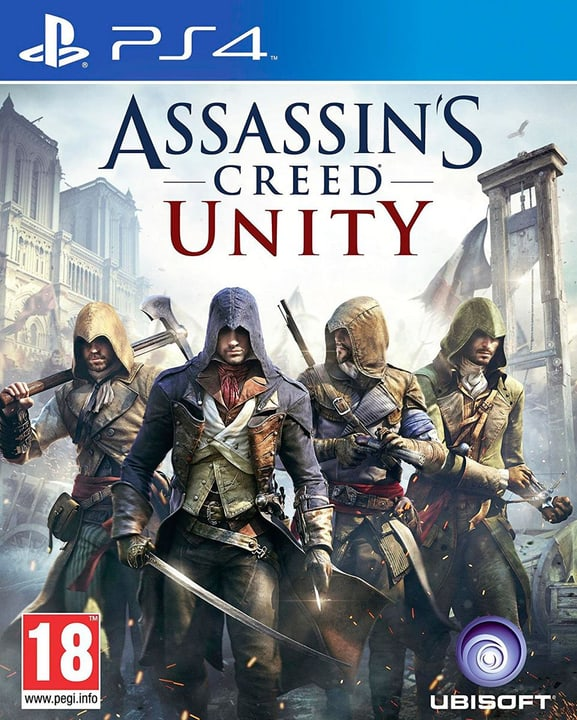 PS4 - Assassins Creed Unity Box 785300121859 Bild Nr. 1