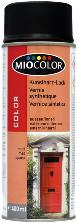 Vernice spray a base di resina sintetica opaco Miocolor 660818200000 N. figura 1