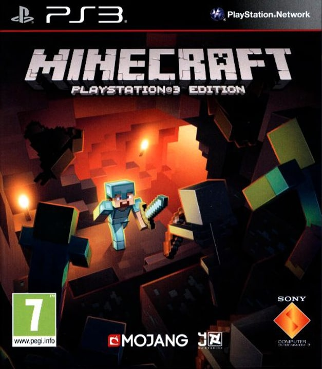 PS3 - Minecraft PlayStat3 Edition Physique (Box) 785300121635 Photo no. 1