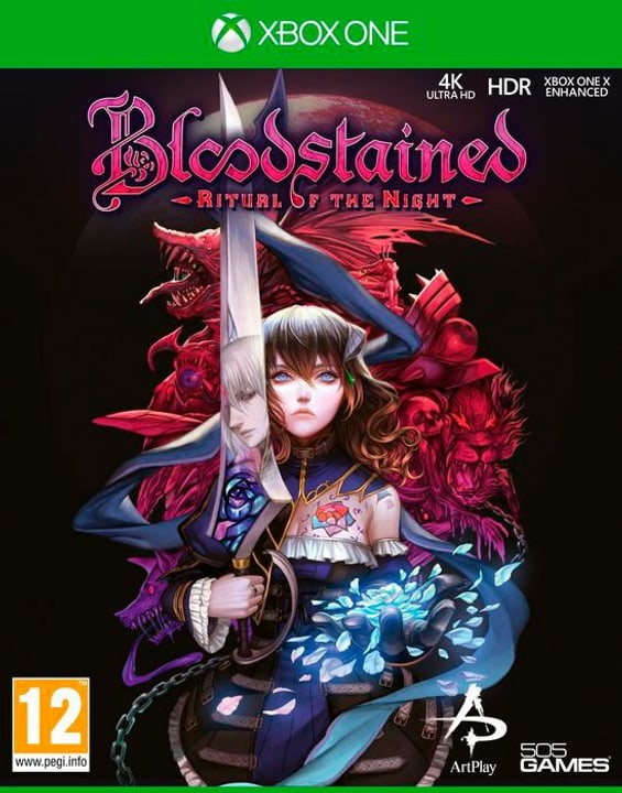 Xbox One - Bloodstained - Ritual of the Night D Box 785300144482 N. figura 1