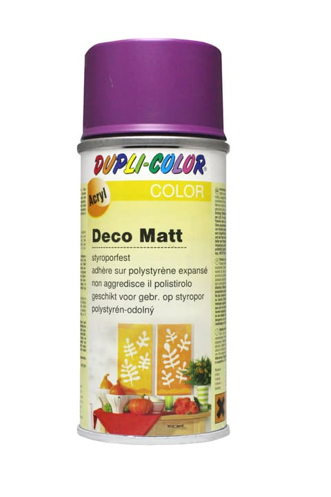 Peinture en aérosol deco mat Dupli-Color 664810015001 Couleur Pourpre Photo no. 1