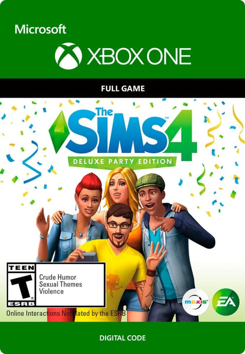 Xbox One - The SIMS 4: Deluxe Party Edition Download (ESD) 785300136306 N. figura 1