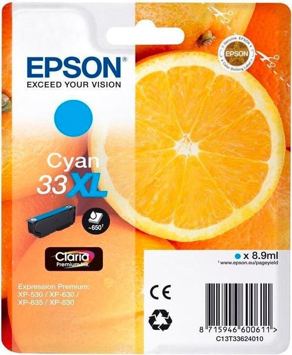 33XL Claria Premium cartouche d'encre cyan Epson 798538100000 Photo no. 1