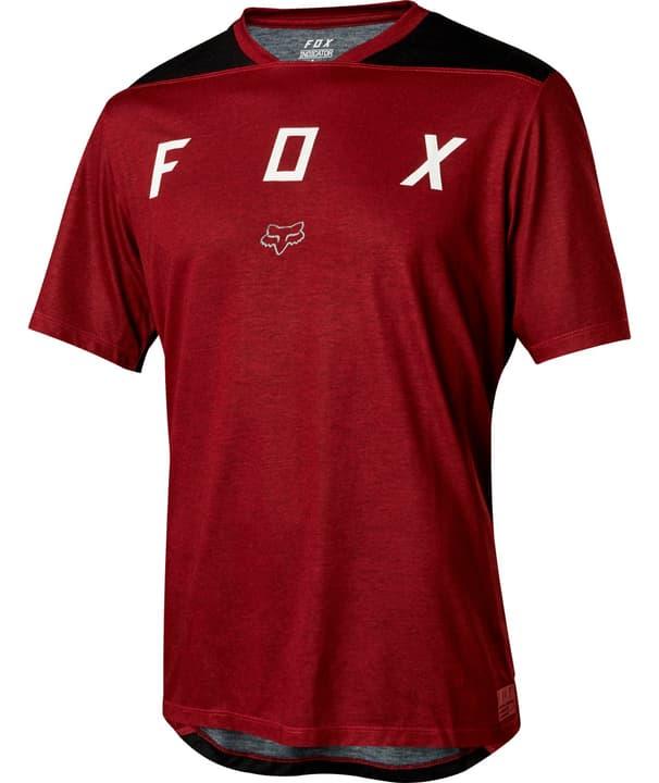 Indicator Maillot à manches courtes pour homme Fox 461359600333 Couleur rouge foncé Taille S Photo no. 1