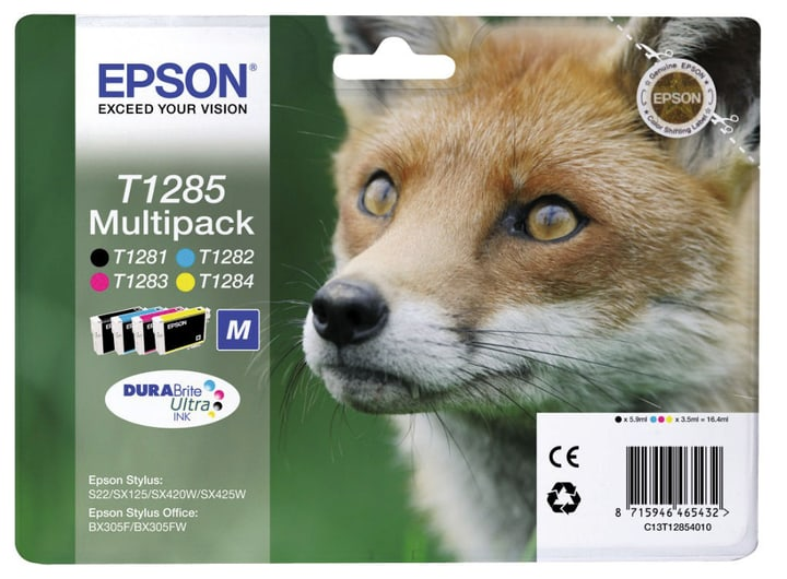 Multipack T128540 cartouche d'encre CMYBK Epson 797519800000 Photo no. 1
