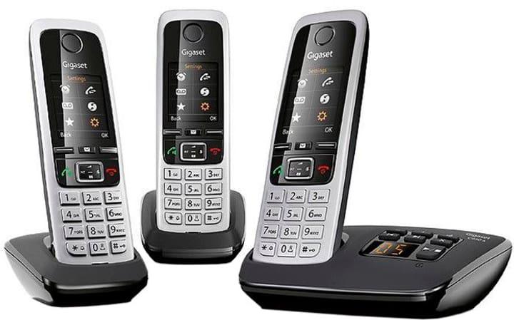 C430A Trio schwarz silber Festnetz Telefon Gigaset 794055700000 Bild Nr. 1