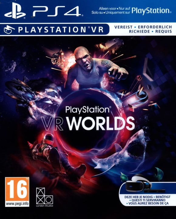 PS4 - PlayStation VR Worlds Physisch (Box) 785300121811 Bild Nr. 1