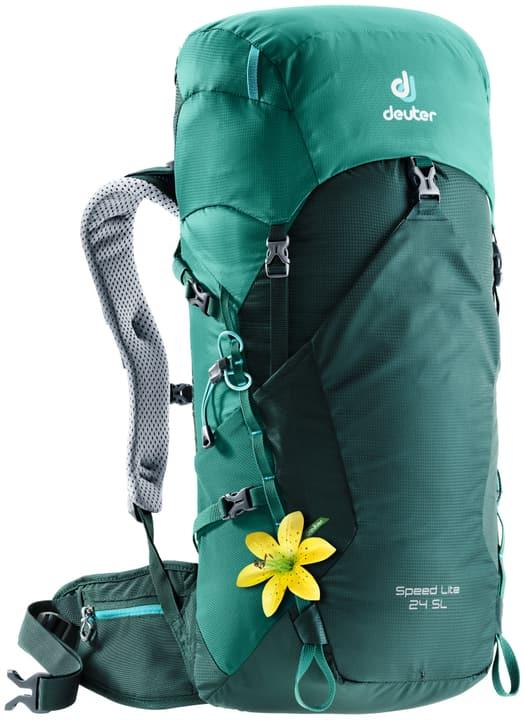 Speed Lite 24 SL Zaino da alpinismo per donna Deuter 460259200060 Colore verde Taglie Misura unitaria N. figura 1