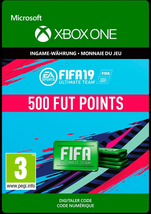 Xbox One - Fifa 19 Ultimate Team 500 Points Download (ESD) 785300141835 N. figura 1