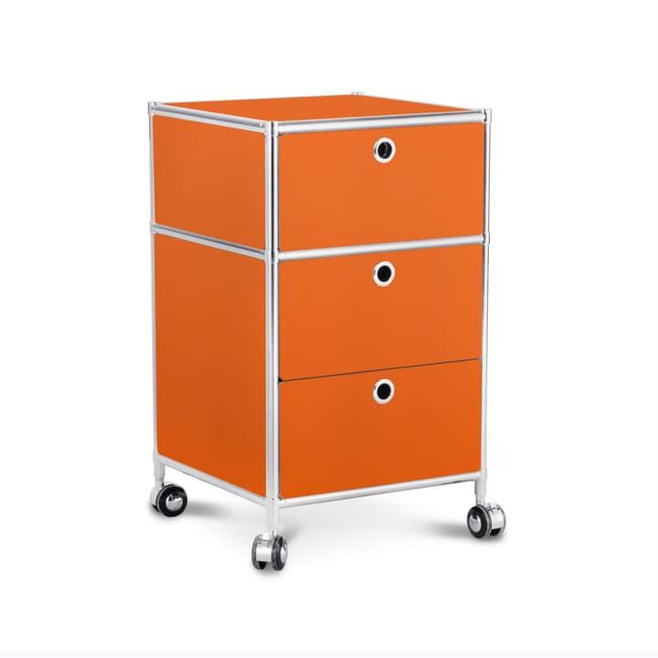 QUADRO Caisson 364017200000 Dimensions L: 40.0 cm x P: 40.0 cm x H: 67.5 cm Couleur Orange Photo no. 1