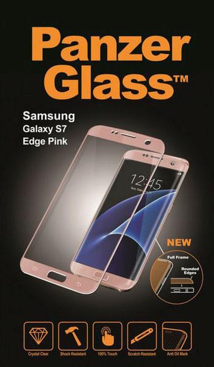Premium Galaxy S7 Edge - pink Panzerglass 785300134507 Bild Nr. 1