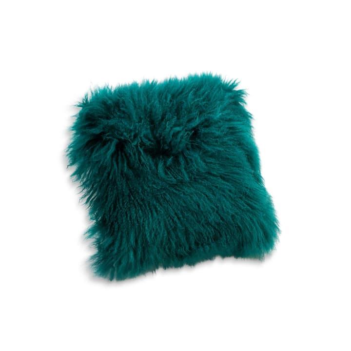 PANYA pelle di pecora cuscino 378057700000 Dimensioni L: 40.0 cm x A: 40.0 cm Colore Verde N. figura 1