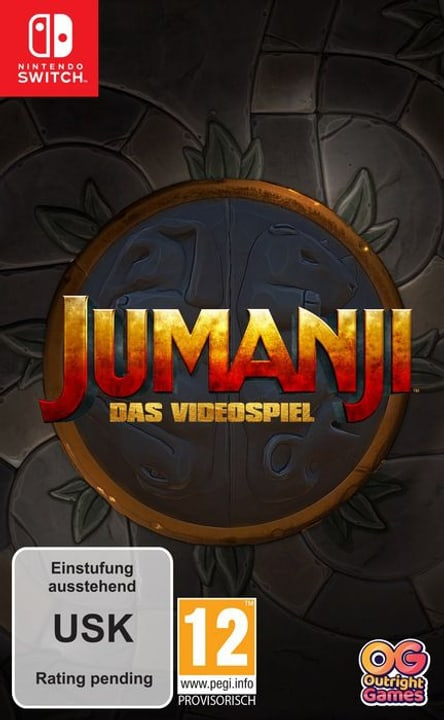 NSW - JUMANJI: The Video Game D Box 785300145432 Bild Nr. 1