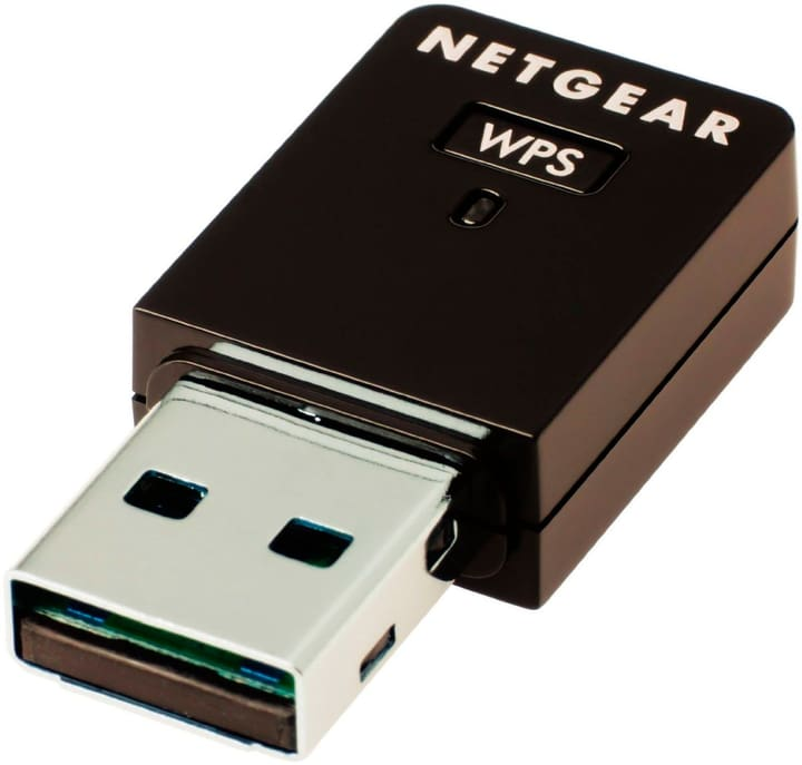 WNA3100M-100PES Wireless N300 USB Mini Adapater Netgear 785300124210 Bild Nr. 1