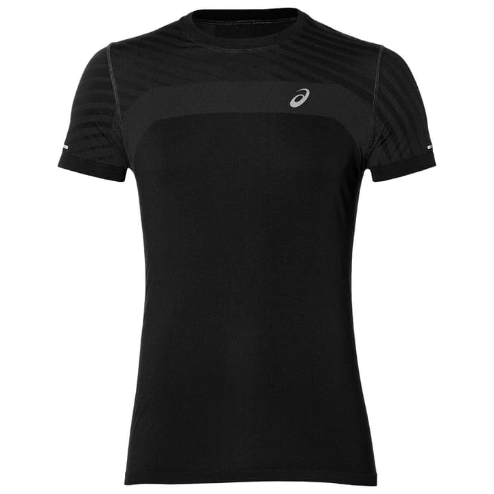 Seamless SS Texture Herren-T-Shirt Asics 470187600420 Farbe schwarz Grösse M Bild-Nr. 1