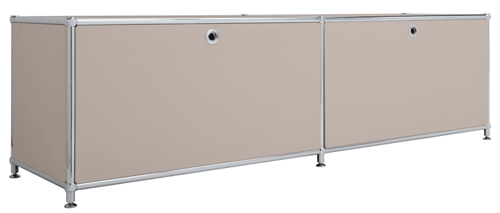 FLEXCUBE Buffet bas 401808800088 Dimensions L: 152.0 cm x P: 40.0 cm x H: 43.0 cm Couleur Gris taupe Photo no. 1