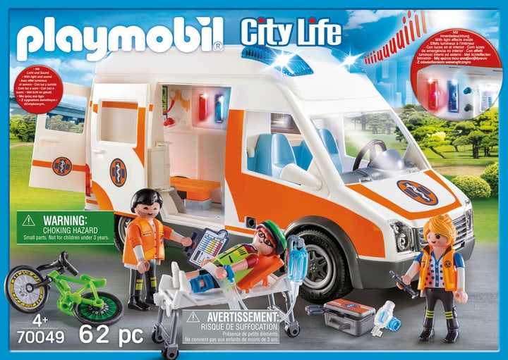PLAYMOBIL 70049 Ambulance et secouristes 748012300000 Photo no. 1
