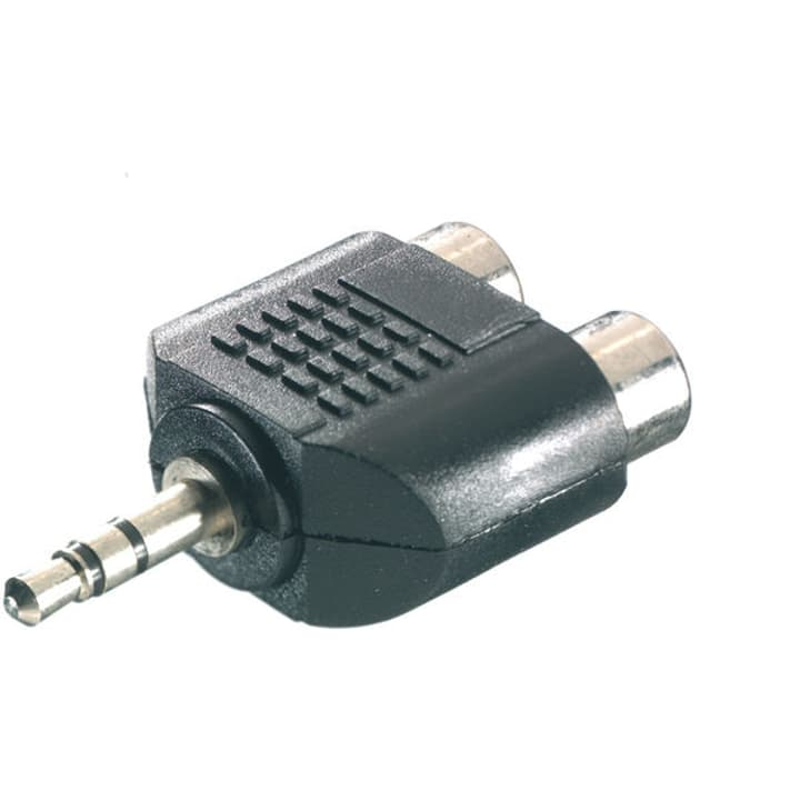 Adapter 3,5 mm Klinke / 2xCinch adattatore Vivanco 770818800000 N. figura 1