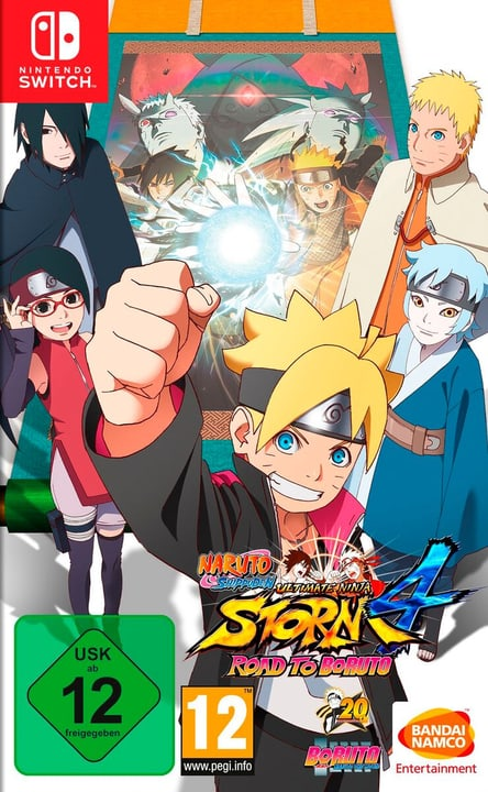 NSW - Naruto Shippuden Ultimate Ninja Storm 4: Road to Boruto Box 785300150761 Photo no. 1