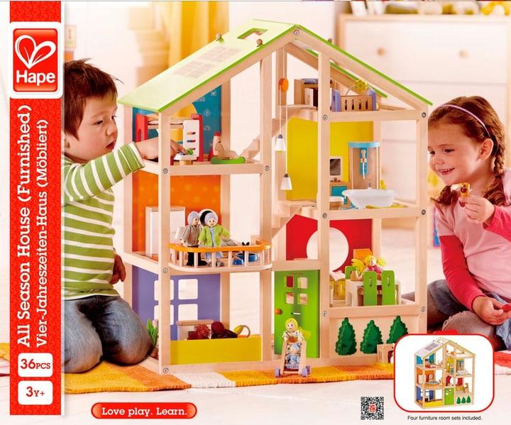 Hape Vier-Jahreszeiten Haus Möbliert 746490000000 Bild Nr. 1