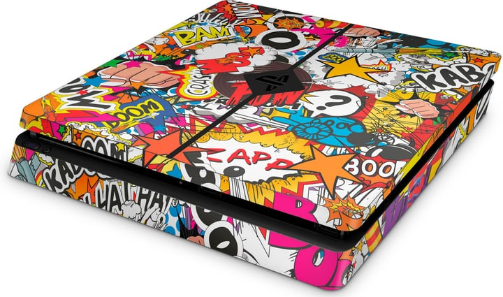 EpicSkin Stickerbomb Color PS4 Slim 785300144541 N. figura 1