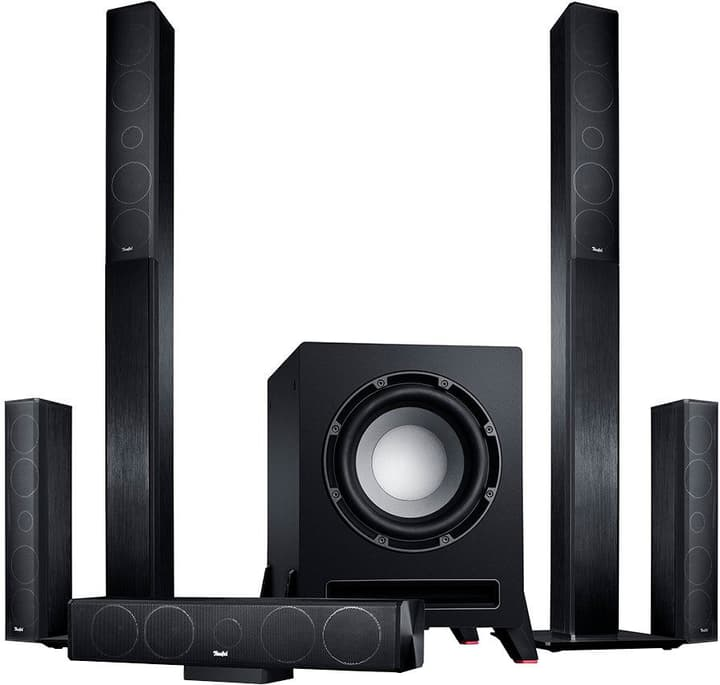 LT4 5.1 Set M - Nero Altoparlante Home Cinema Teufel 785300135473 N. figura 1