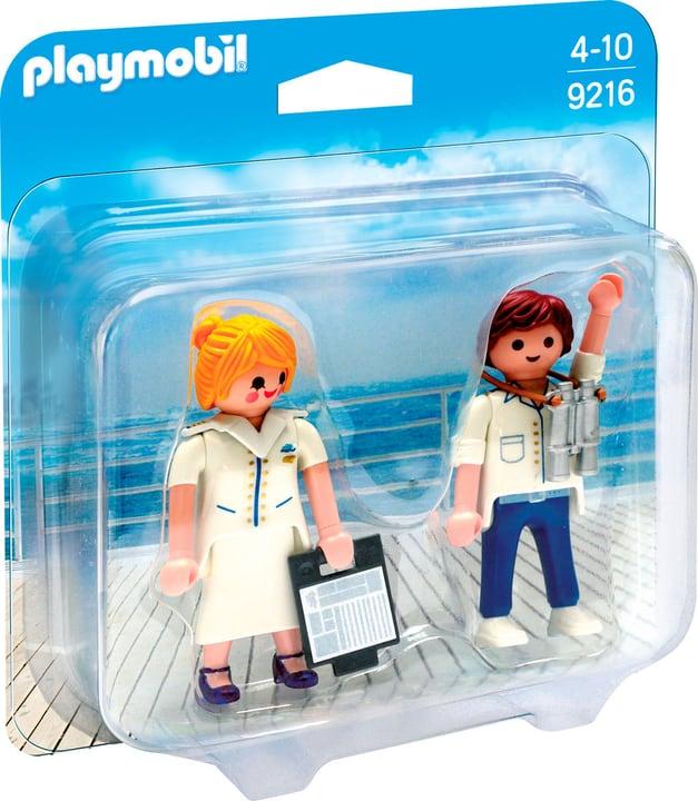 Playmobil Duo Packs Comandante e Hostess nave da crociera 9216 746078100000 N. figura 1